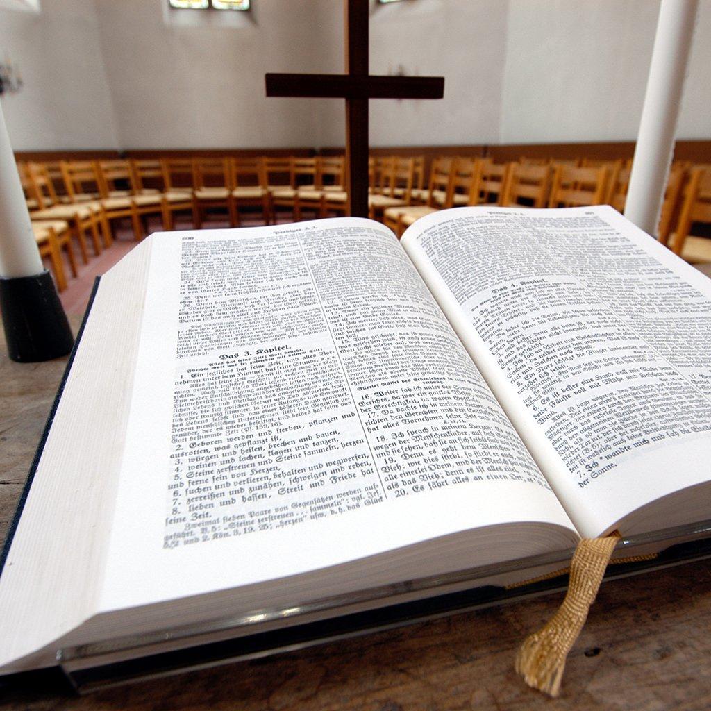 Online-Kurse Bibelwissenschaften: Bibel in der Kirche St. Chrischona