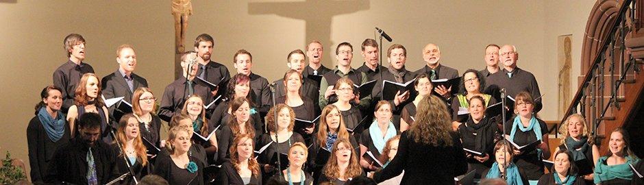 tsc-Chor beim Konzert «Credo» in der Pauluskirche in Badenweiler