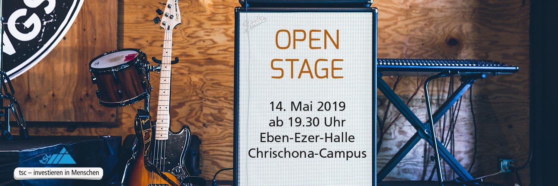 Open Stage Abend am 14. Mai 2019 auf dem Chrischona-Campus (1500x500px)