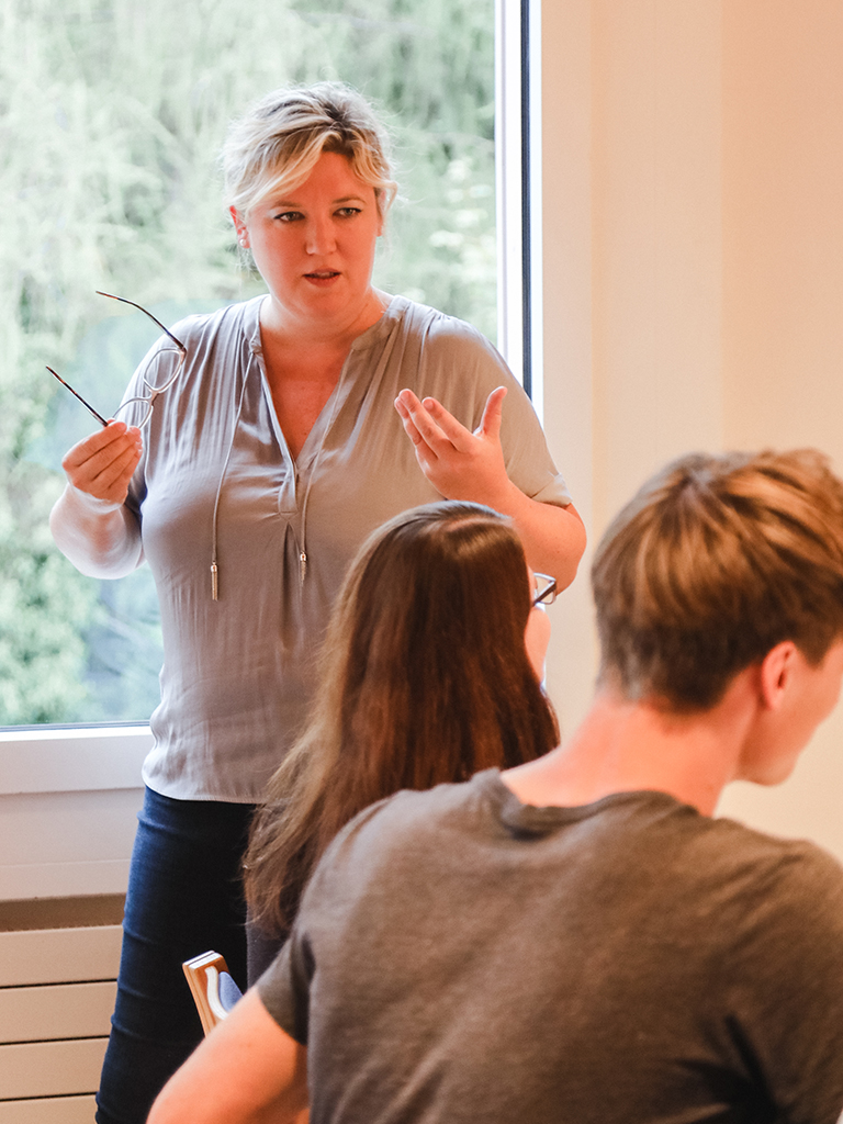 Freitagsseminare im tsc-Jahreskurs: Dozentin Susanne Hagen