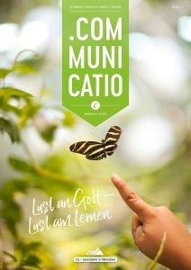 Titelseite des Communicatio-Magazins 1/2017: Lust an Gott – Lust am Lernen