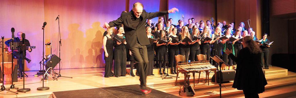 Frühlingskonzert 2019 mit dem tsc-Chor: Stepptänzer Andreas Dänel