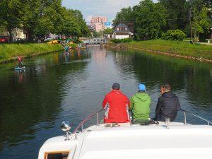 tsc-Hausbootwoche für Männer: Unterwegs auf dem Kanal (4zu3)