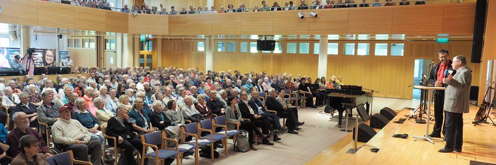 Der Seniorentag des Theologischen Seminars St. Chrischona (tsc) am 7. Mai 2019 machte den rund 700 Teilnehmern viel Hoffnung.