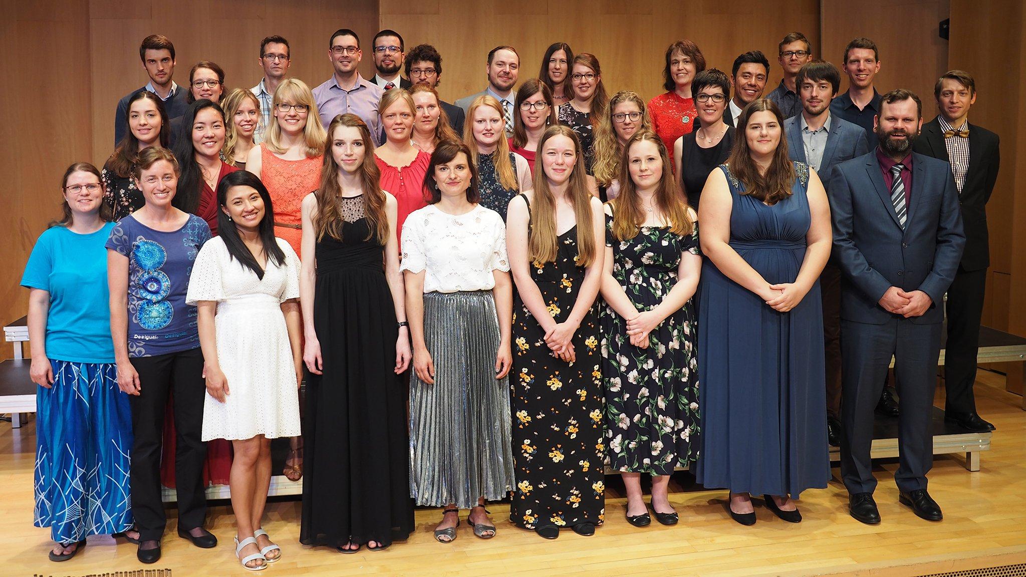 Absolventinnen und Absolventen 2019 des Theologischen Seminars St. Chrischona (tsc)