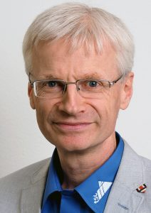 Pfr. Dr. Stefan Felber, tsc-Dozent für Altes Testament (Portraitfoto, 3zu4)