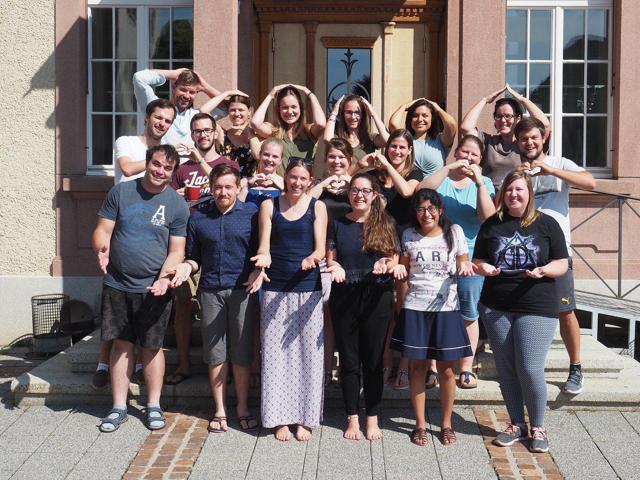 tsc-Start 19/20: Studierende im Bachelorstudiengang Theologie & Pädagogik