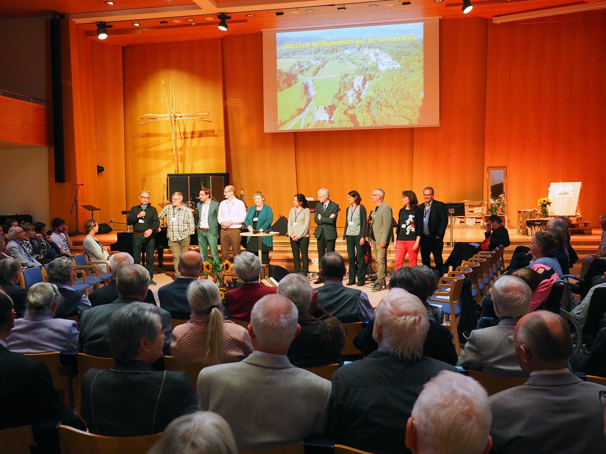 tsc-Jubiläumstreffen 2019: Dozentenkollegium stellt sich vor.