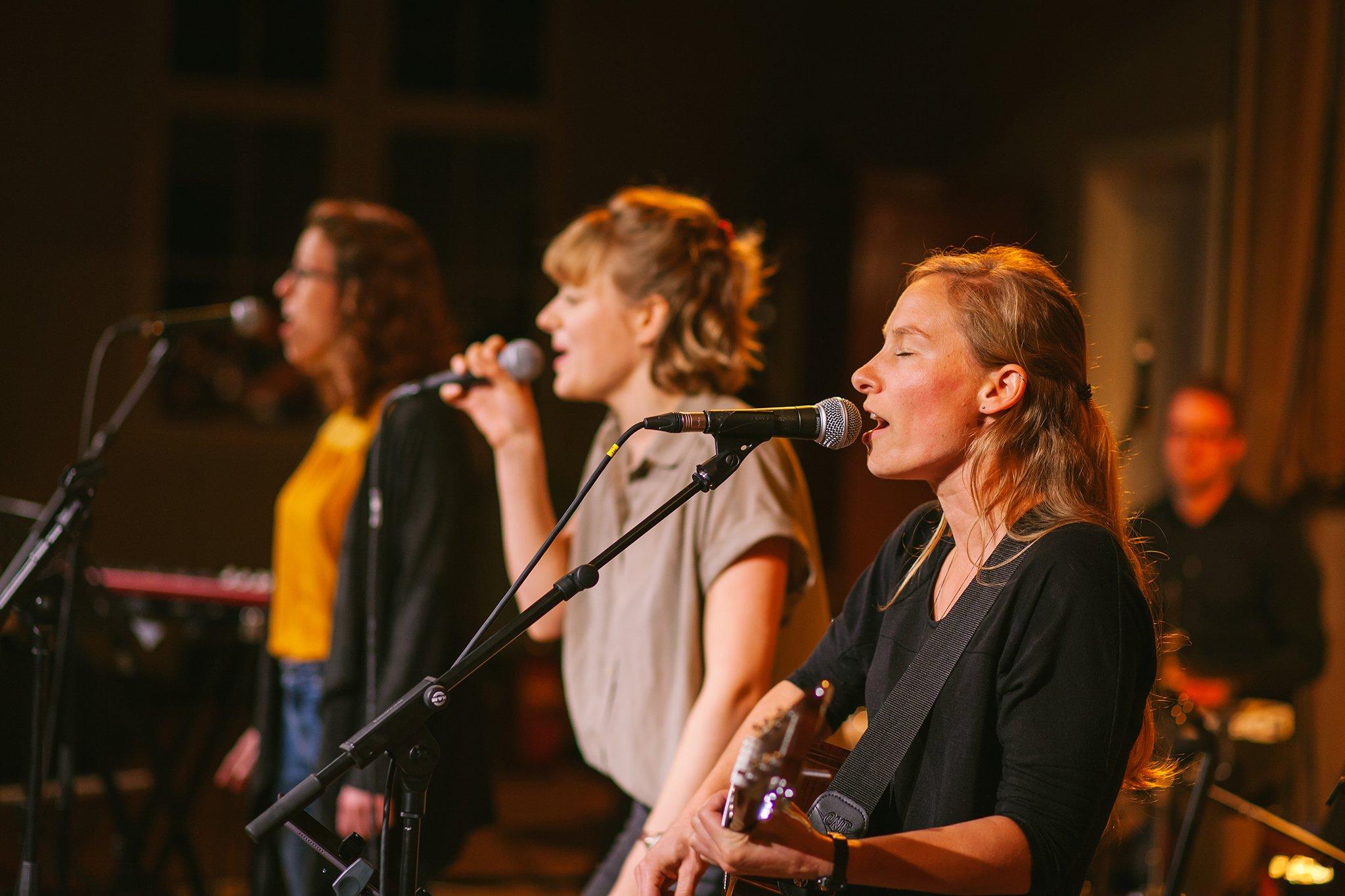 Eben-Ezer-Sessions am 18.10.2019: Marion Dirr mit Band (Foto: Knut Burmeister, ALLTAG)