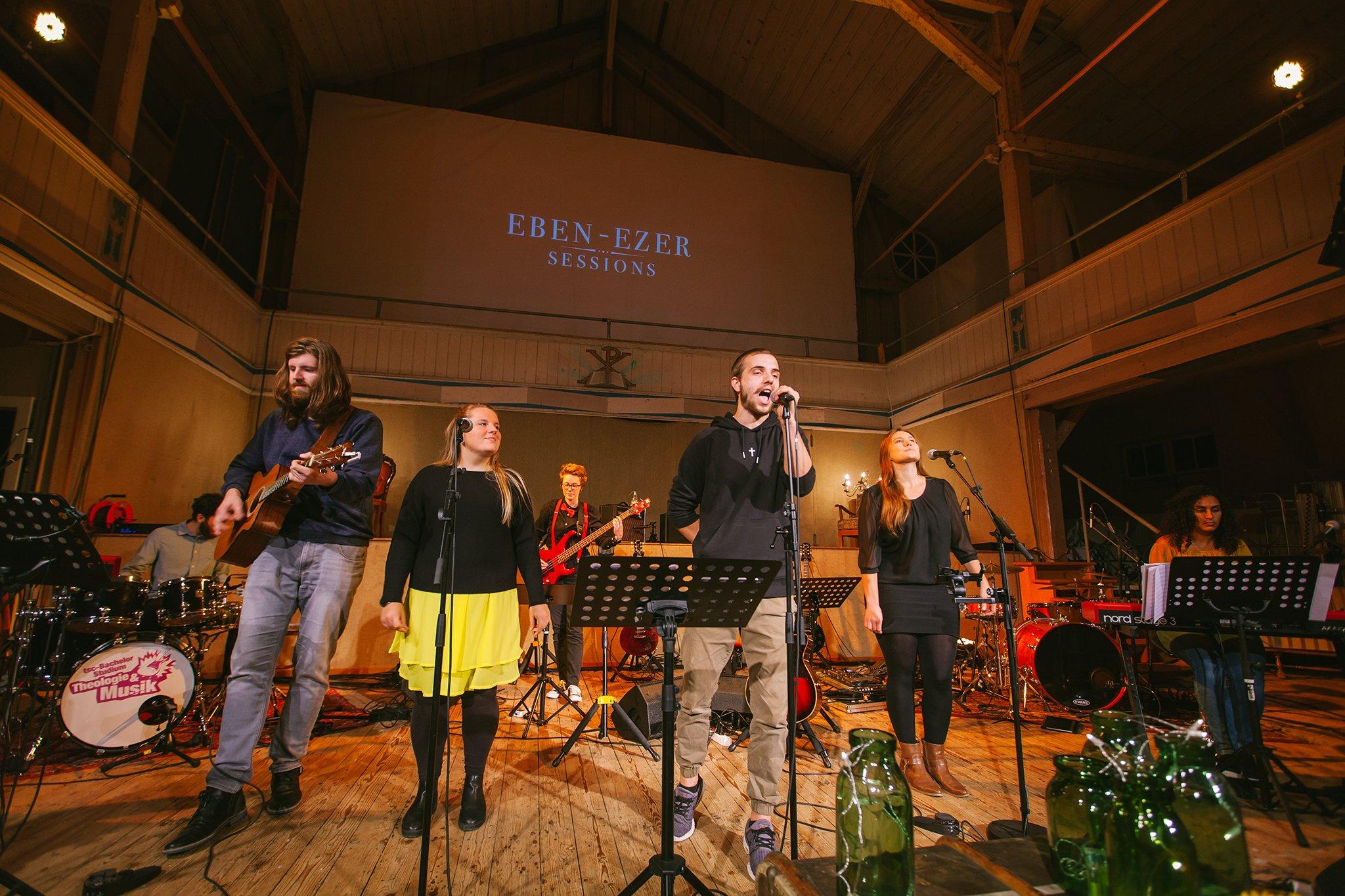 Eben-Ezer-Sessions am 18.10.2019: Robin Mauch mit Band (Foto: Knut Burmeister, ALLTAG)