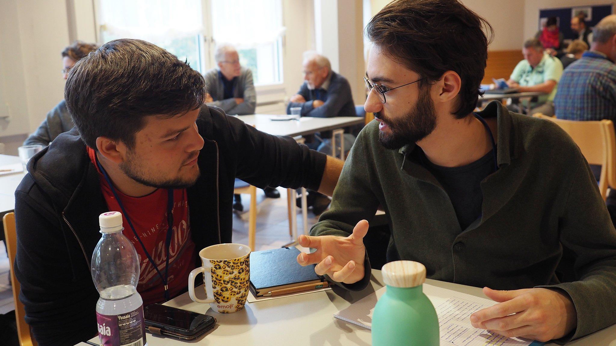 Das Zeitgeistseminar liefert den Teilnehmern viel Diskussionsstoff.