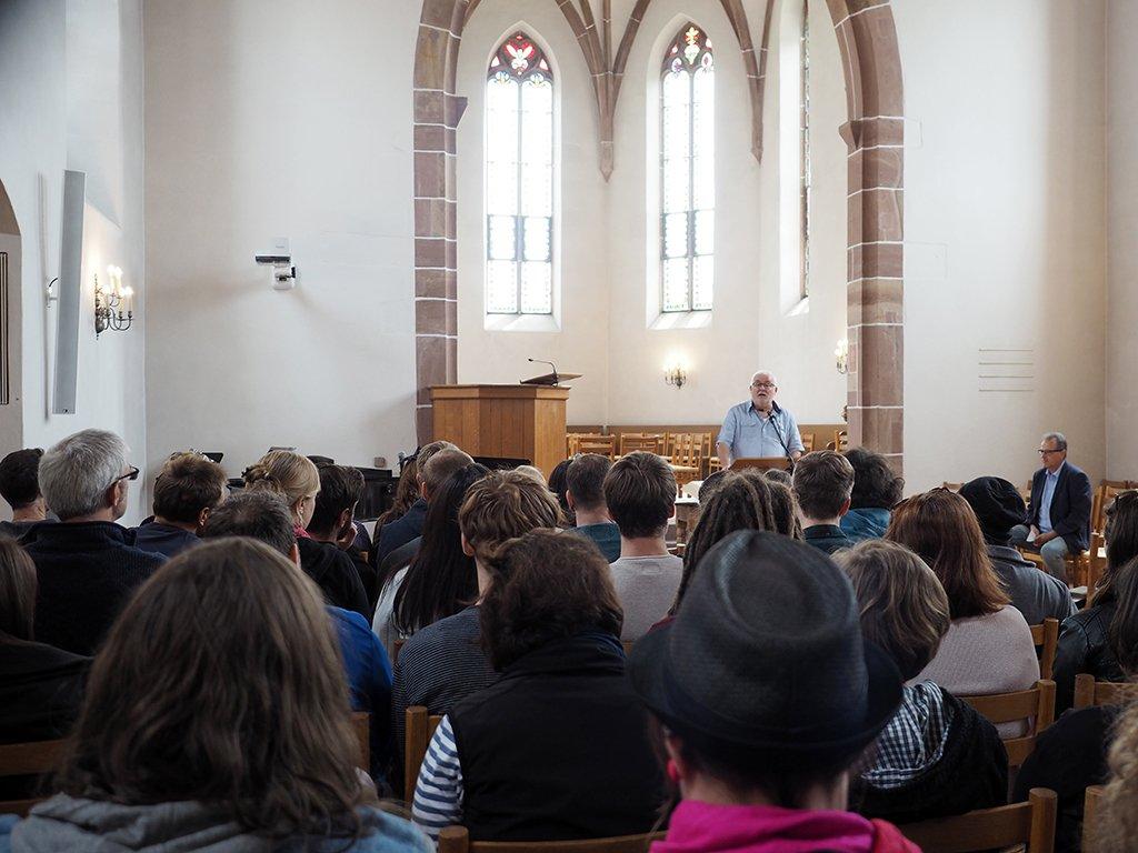 Gottesdienst der Studiengemeinschaft des tsc in der Kirche St. Chrischona