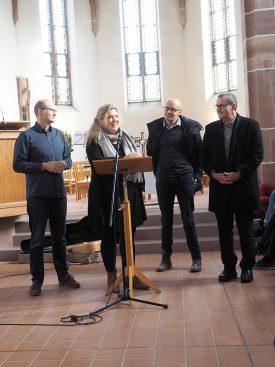 Abschlussgottesdienst Herbstsemester 2019/20: Verabschiedung von Manuel Schmid und Stefan Schweyer als Dozenten