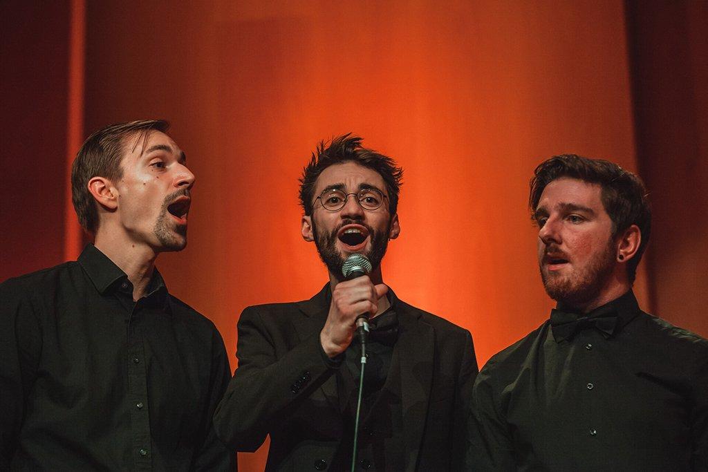 Adventskonzert des tsc-Chors am 30.11.2019: Männerensemble (Foto: Knut Burmeister, ALLTAG)
