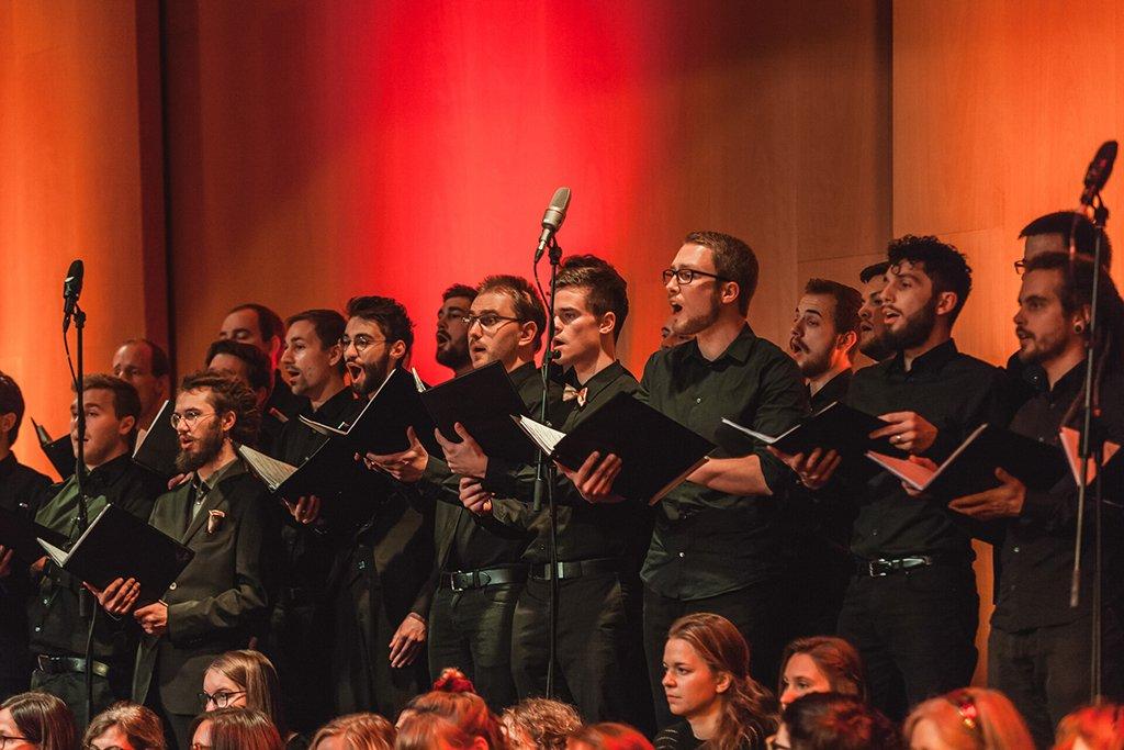 Adventskonzert des tsc-Chors am 30.11.2019: Männerchor (Foto: Knut Burmeister, ALLTAG)