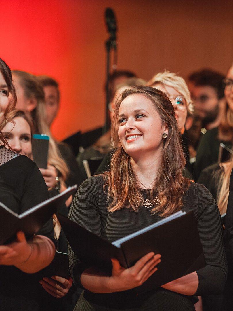Adventskonzert des tsc-Chors am 30.11.2019: Mirjam (Foto: Knut Burmeister, ALLTAG)