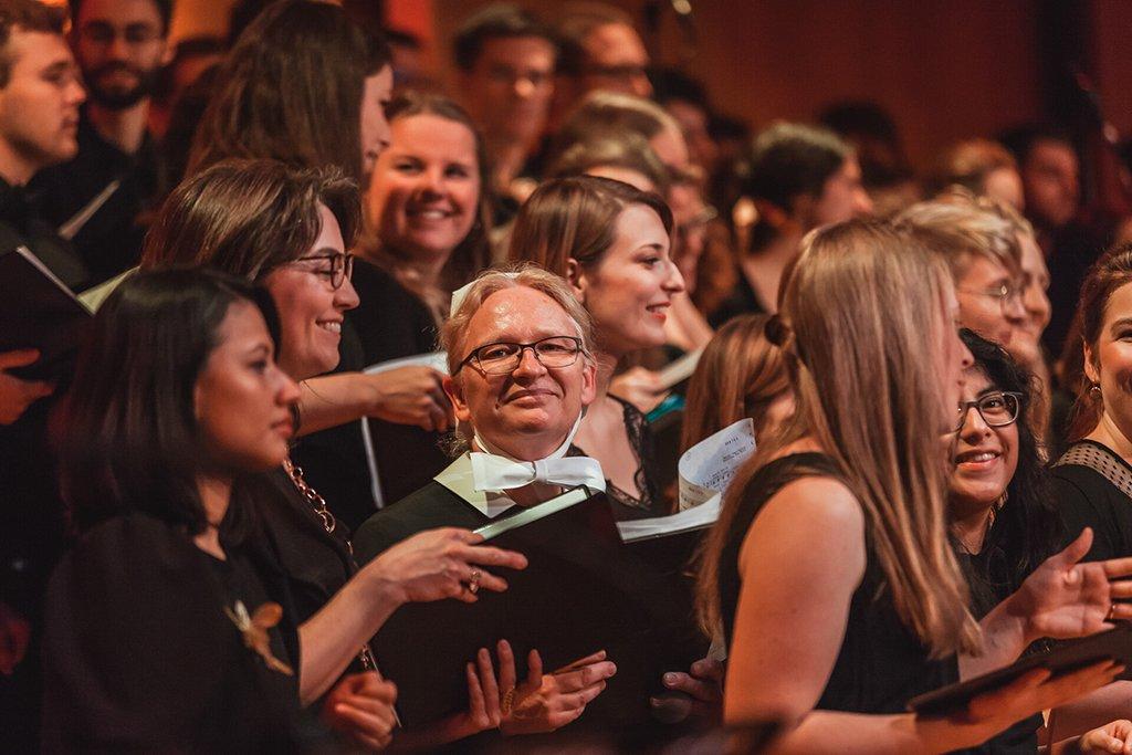 Adventskonzert des tsc-Chors am 30.11.2019: Sängerinnen (Foto: Knut Burmeister, ALLTAG)