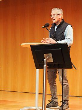 Semester-Eröffnungsgottesdienst Frühlingssemester 2020: Claudius Buser bei der Andacht