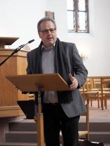 Gottesdienst 180 Jahre tsc am 11.3.2020: Rektor Benedikt Walker