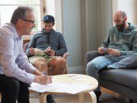 Benedikt Walker unterzeichnet Netzwerkvereinbarung mit EGVPfalz