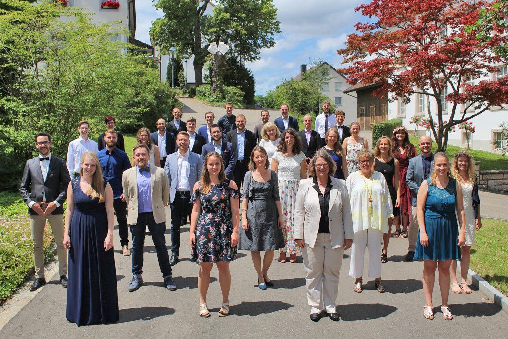 tsc-Aussendung 2020: Absolventinnen und Absolventen