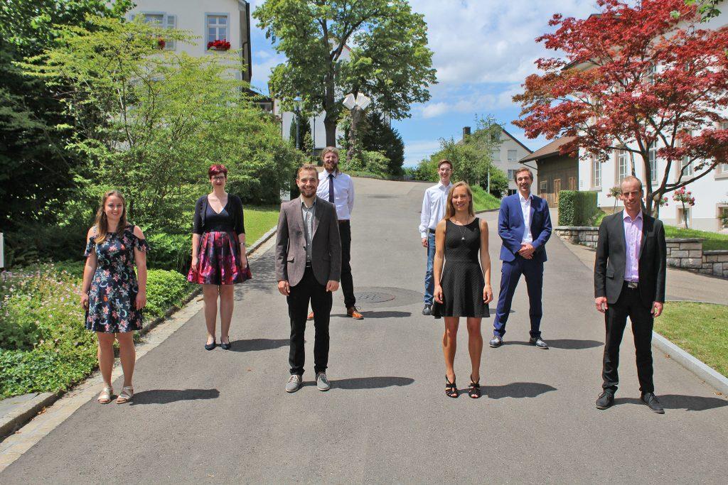 tsc-Aussendung 2020: Absolventinnen und Absolventen des Bachelor-Studiengangs Theologie & Musik