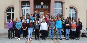 Die neuen Studentinnen und Studenten vor dem Start ins Studienjahr 2020/21 am Theologischen Seminar St. Chrischona (tsc)