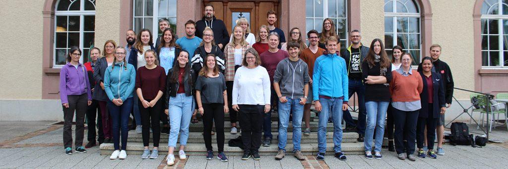 Die neuen Studentinnen und Studenten vor dem Start ins Studienjahr 2020/21 am Theologischen Seminar St. Chrischona (tsc).