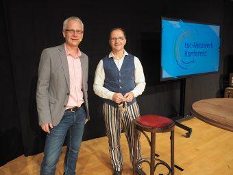 tsc-Netzwerk-Konferenz 2020: Claudius Buser und Andreas Loos