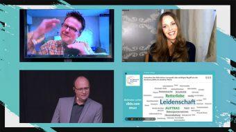 tsc-Netzwerk-Konferenz 2020: Talk zwischen Kirstine Fratz, Steffen Beck und Christian Haslebacher