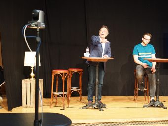 tsc-Netzwerk-Konferenz 2020: Walter und Oliver Dürr