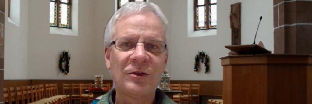 Claudius Buser blickt im Online-Semesterabschlussgottesdienst am 16.12.2020 zurück auf das Corona-Jahr 2020 (1297x432px)