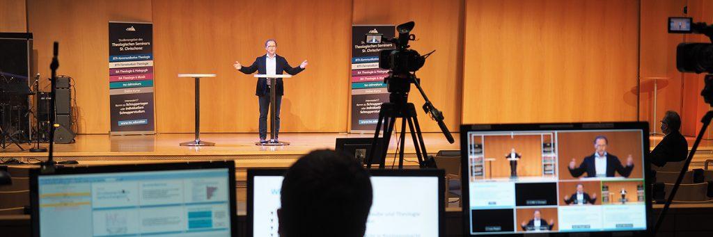 Forum Kommunikative Theologie 2021: Andreas Loos / Online-Konferenz