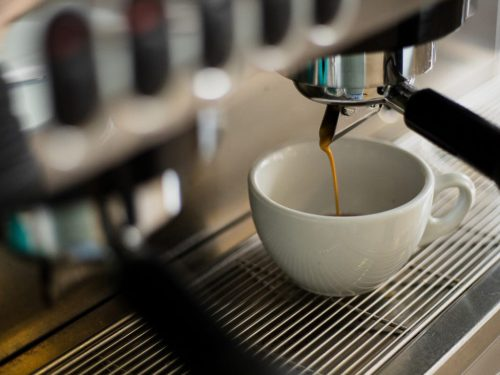 Foodnote Coffeehouse: Kaffeemaschine