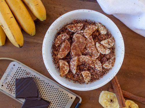 Foodnote Coffeehouse: Banane-Schoko-Müesli