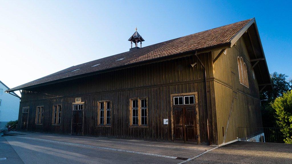 Neues Leben und neue Klänge ziehen ein in die unter Denkmalschutz stehende Eben-Ezer-Halle auf St. Chrischona (erbaut 1890).