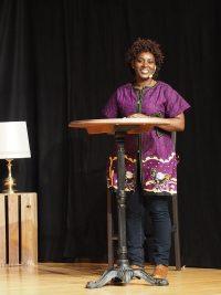 Joséphine Niyikiza berichtete, wie sie trotz schlimmer Erfahrungen im ruandischen Genozid vergeben gelernt hat.