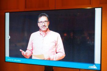 René Winkler führte als Moderator durch die Liveübertragung des tsc-Seniorentags am 4. Mai 2021.