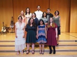 tsc-Aussendungsfeier 2021: Absolventinnen und Absolventen des Bachelorstudiengangs Theologie & Pädagogik