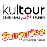 Logos Kultour und Surprise Reisen (200x200px)