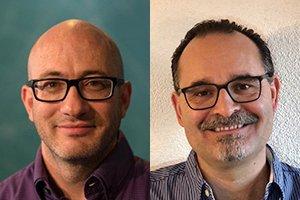 Paul Bruderer und Roland Hardmeier, Referenten des Freitagsseminars «Schriftverständnis und Postmoderne» am 08.04.22